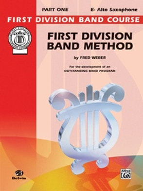 First Division Beginning Band Bundle for Alto Saxophone