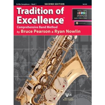 Tradition of Excellence Beginning Band Bundle for Alto Saxophone
