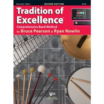 Tradition of Excellence Beginning Band Bundle for Percussion