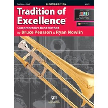Tradition of Excellence Beginning Band Bundle for Trombone