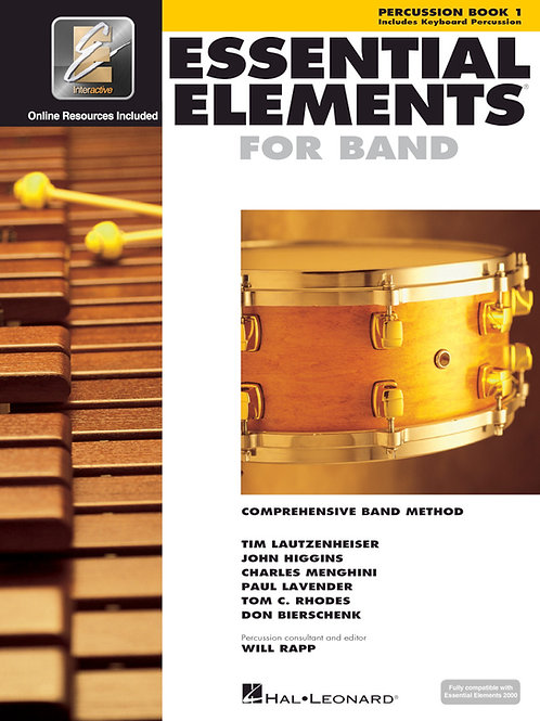 Essential Elements Beginning Band Bundle for Percussion