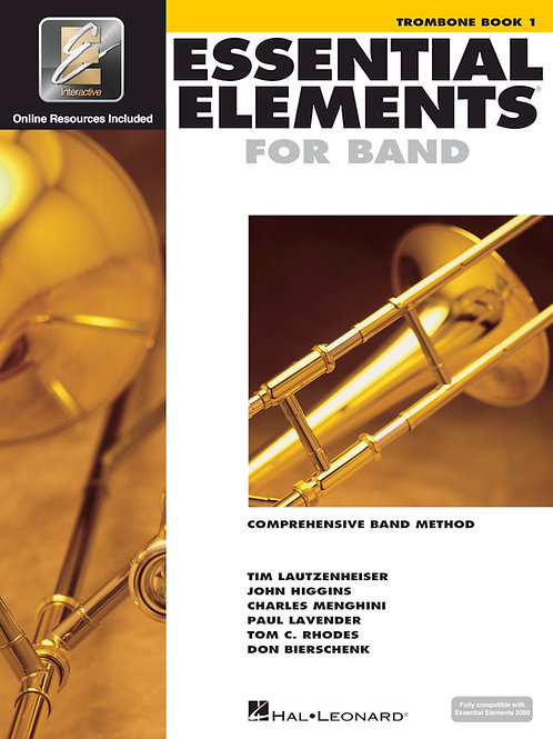 Essential Elements Beginning Band Bundle for Trombone