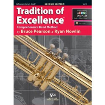 Tradition of Excellence Beginning Band Bundle for Trumpet