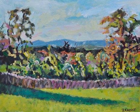 Old Autumn Orchard, Conderton