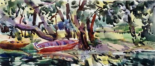 Dordogne Riverbank