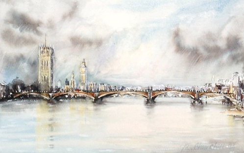 Vauxhall Bridge, Big Ben & Parliament Buildings