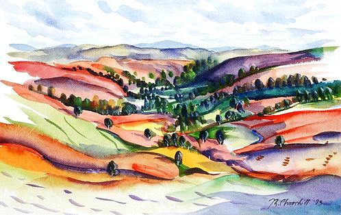 Valley of the Singing Bones, Powys
