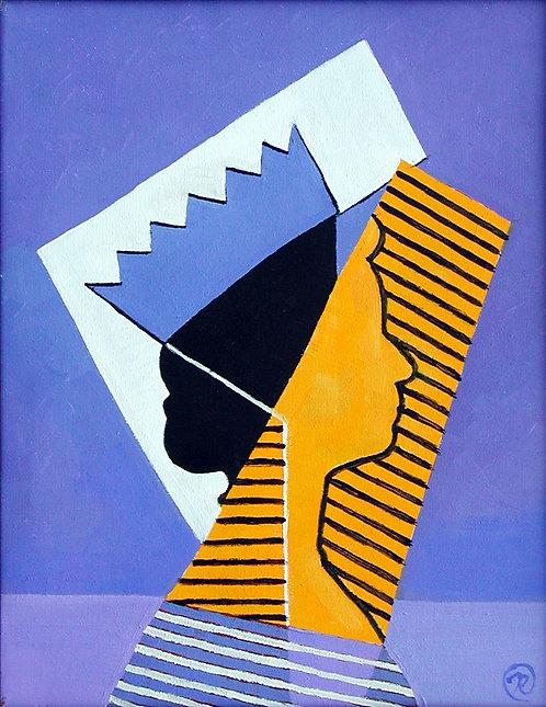 Cubist Queen I