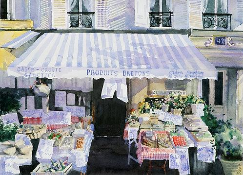 Produit Breton, Paris II