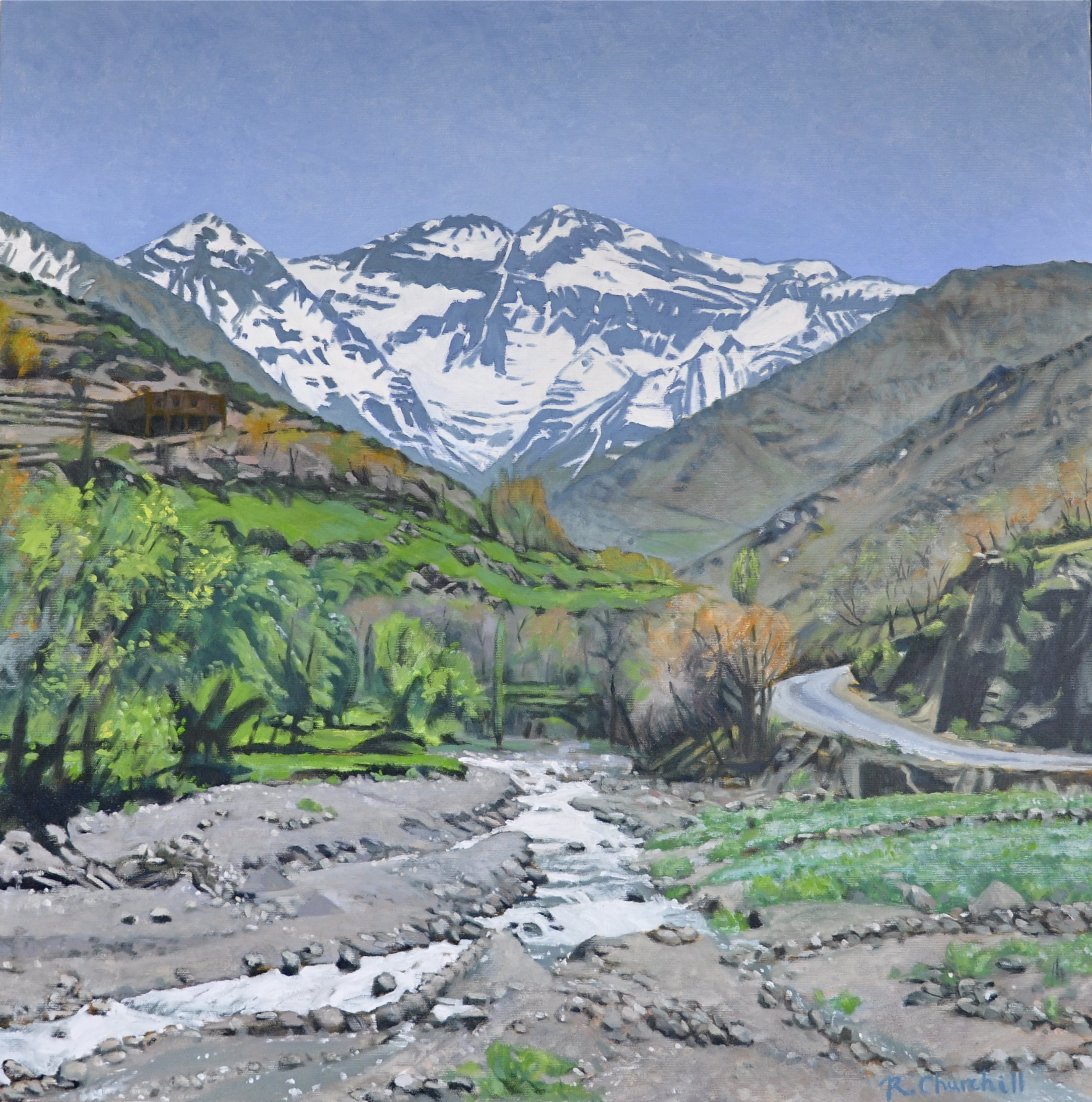 Mountain View; Road to Imlil