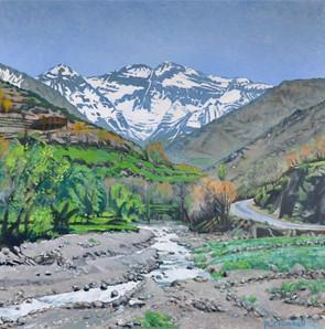 Atlas View, Road to Imlil