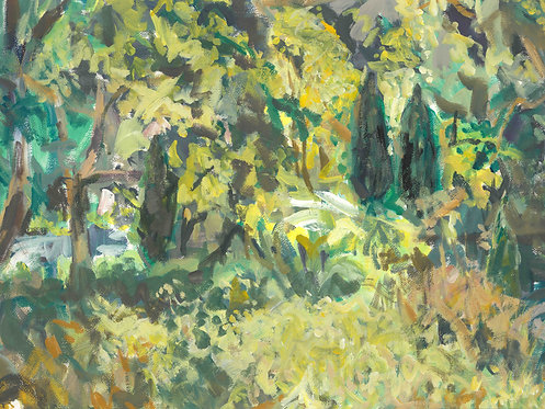 Silk Mill Jungle I, Overbury