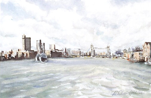 Tower Bridge form the east