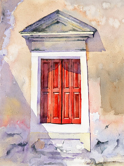 Red Shutters, Paxos