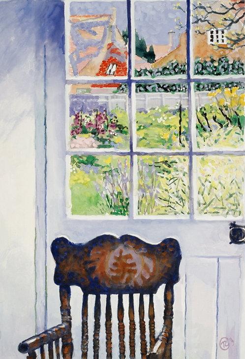 Kitchen Door View, Overbury