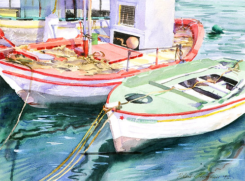 Fishing Boats, Paxos