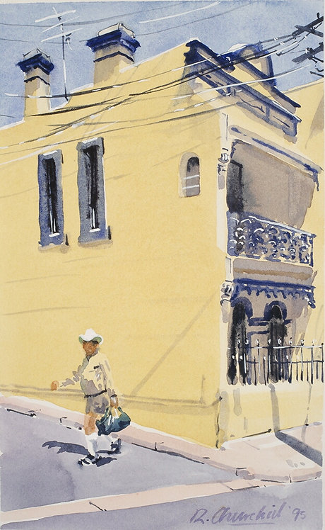 Yellow House. Paddington