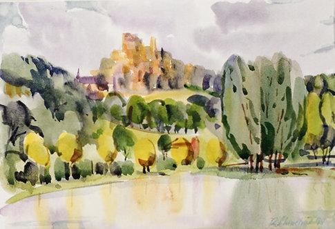 Turenne from the Lake II