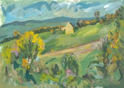 Barn above Kemerton (autumn 2020)