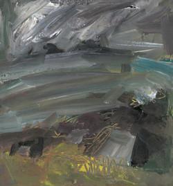 Miner's Pool, Cape Cornwall (stormy sky)
