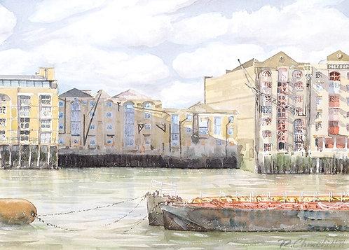 Metropolitan Wharf, Whapping