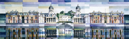 The Old Royal Naval College, Greenwich (Block-style)