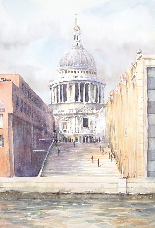 St. Paul's Cathedral (pre-Millenium Bridge)