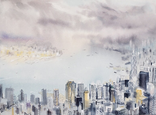 Midlevels toward Tsim Sha Tsui
