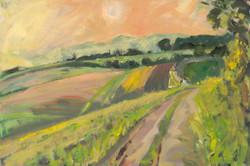 Road to Sundial Barn, Autumn Equinox