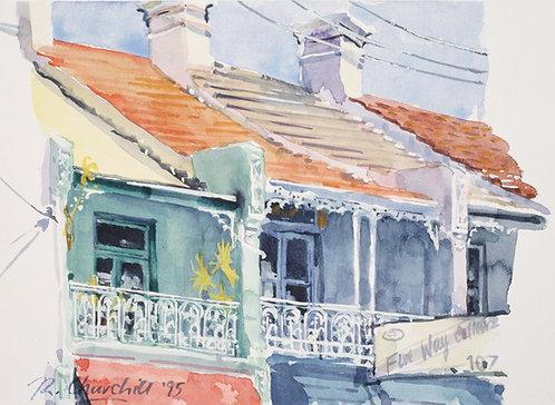 Balconies, Paddington, Sydney