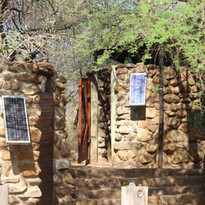 Solar panel bathrooms