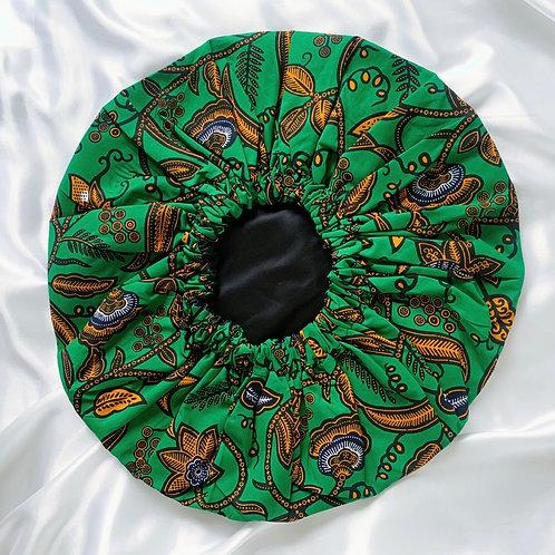 Greenleaf Satin Bonnet