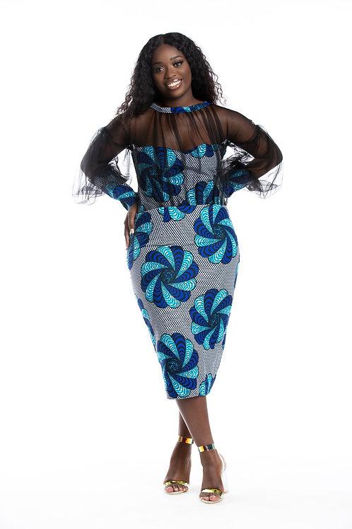 BlueBird Mesh Dress
