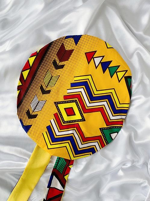Kingfisher Satin Tie Bonnet