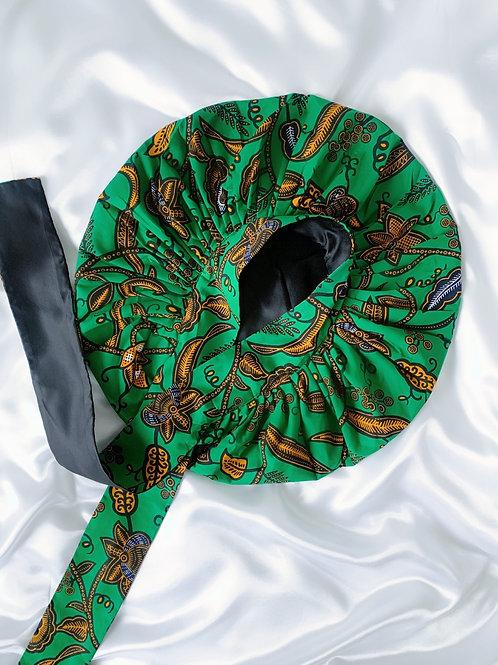 Greenleaf Satin Tie Bonnet