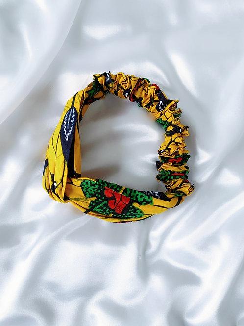 Yellow Hammer Ankara Headband