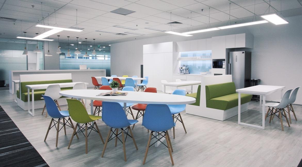 Interior Design Breakout Area