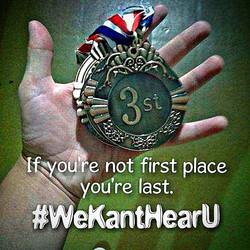 #WeKantHearU _Www.WeKantHearU