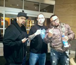 DJ Rome and Chino XL with Saint Joe
