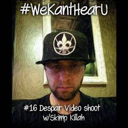 #WeKantHearU _Skimp Killah video shoot for Despair started!