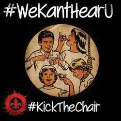 #WeKantHearU