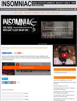 Insomniac Magazine