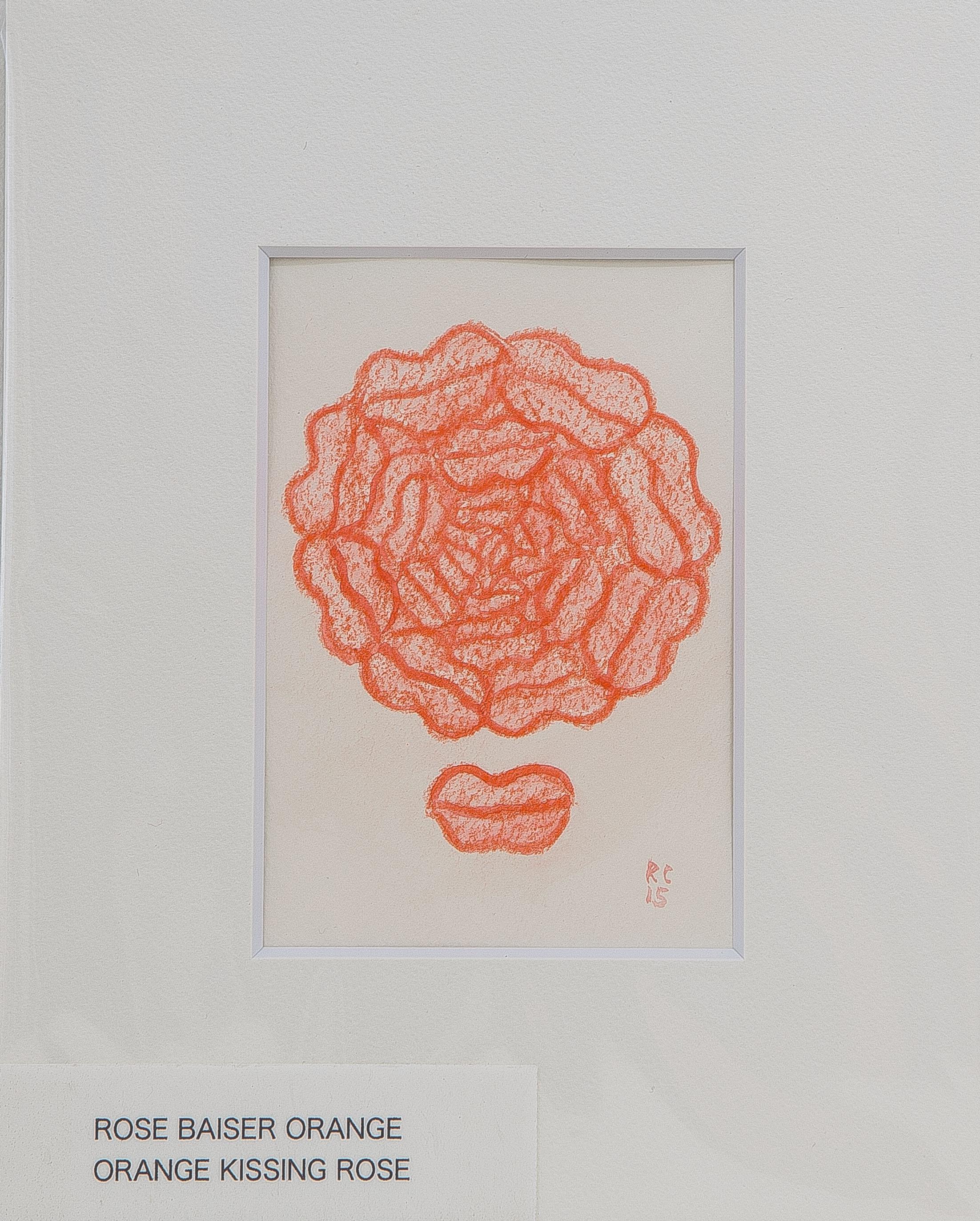 KISSING ROSE
