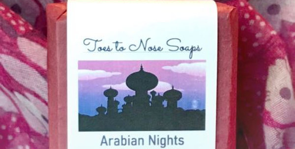 Arabian Nights scents all natural soap