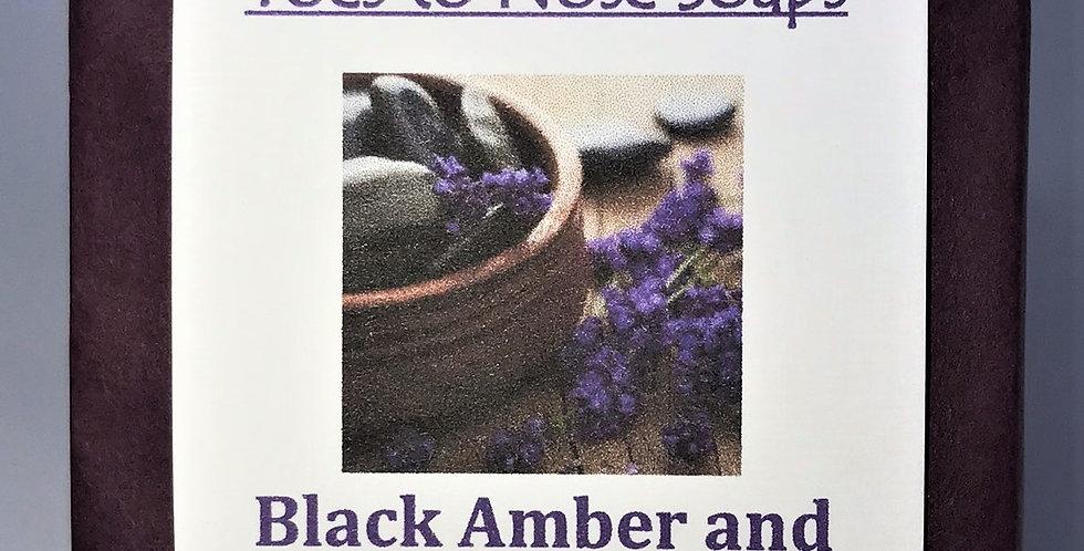 Black Amber and Lavender