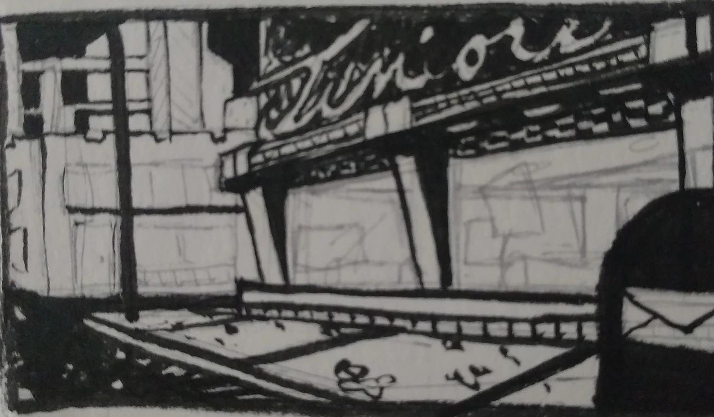 A rough sketch