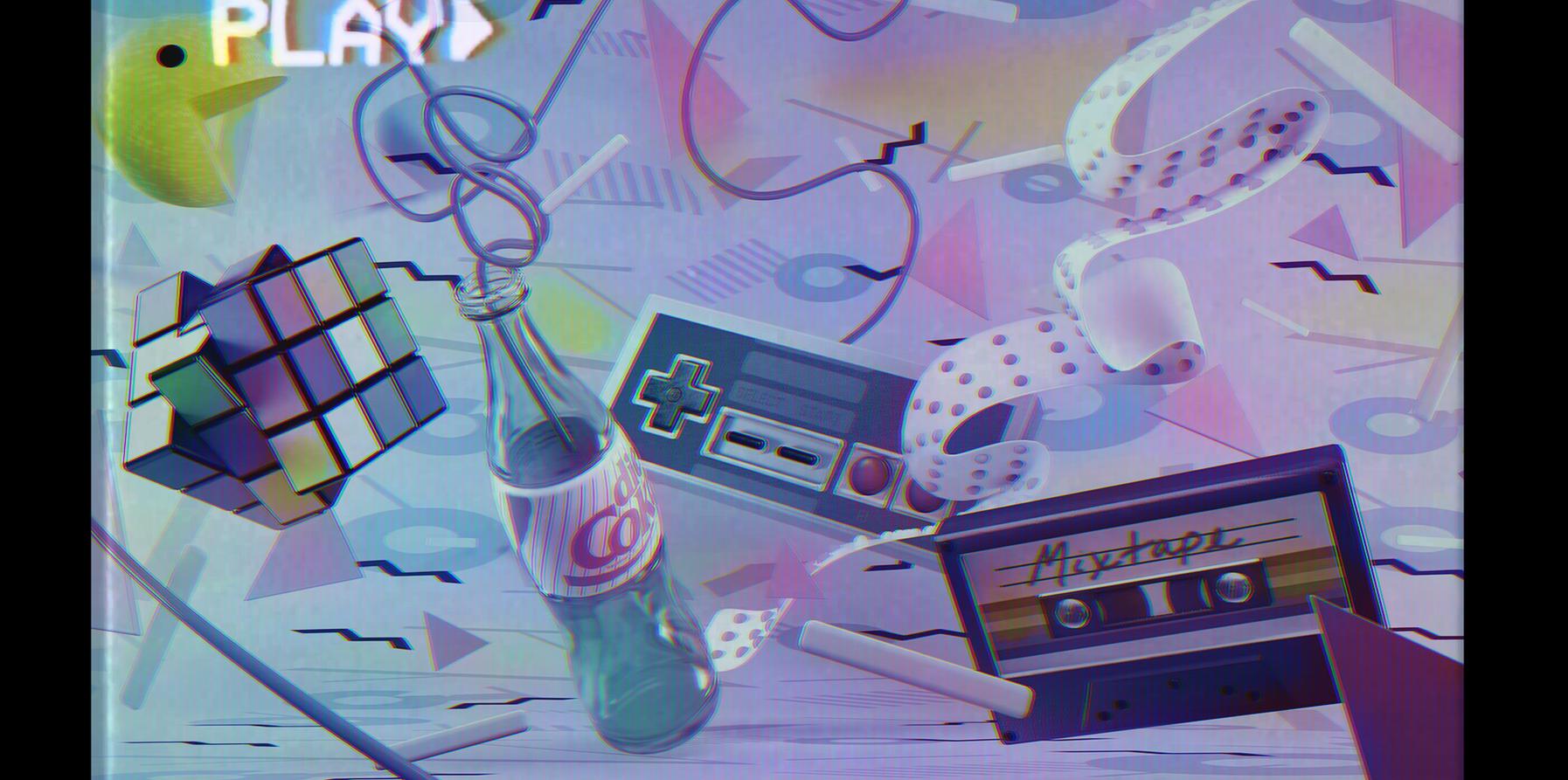 80's Still Life