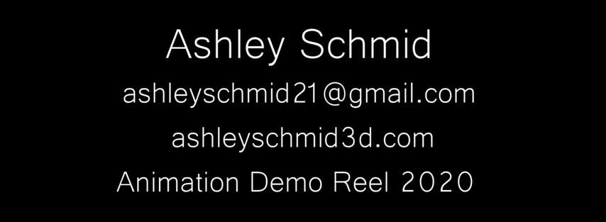 Animation Demo Reel 2020