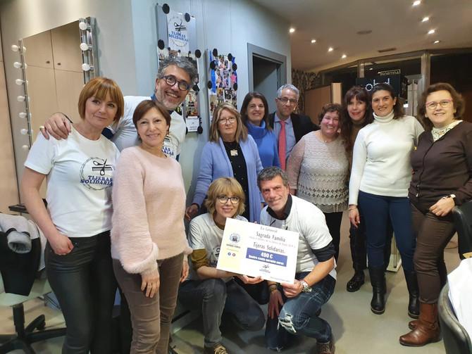 L'Eix Comercial Sagrada Familia de Barcelona colabora con Tijeras Solidarias
