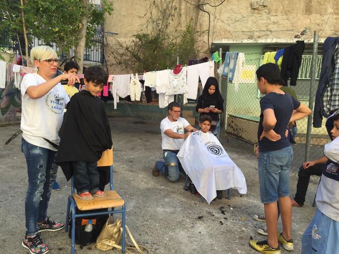 La peluquera Olga García (Valladolid) explica sus proyectos de ayuda